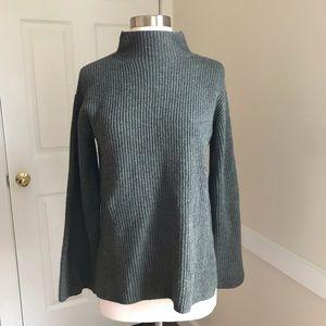 Everlane Cashmere Sweater Ribbed Mock Neck